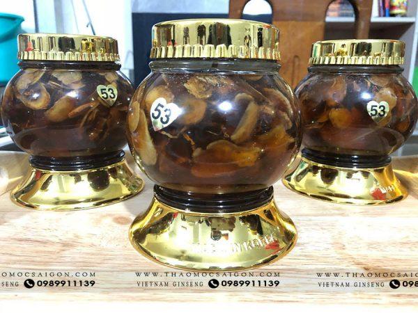 Công dụng của sâm ngọc linh ngâm mật ong