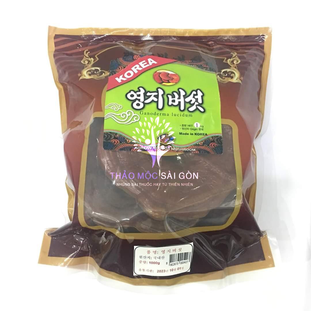 Nấm linh chi Hàn Quốc giá bao nhiêu 1kg, địa chỉ mua tại TP HCM
