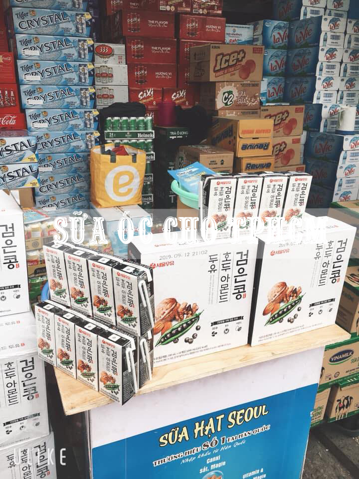 Sữa Óc Chó Hạnh Nhân Hàn Quốc – Seoul Milk tại TP HCM